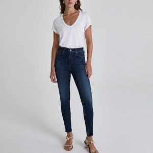 AG Jeans The Mila Super High Rise Skinny Jea…